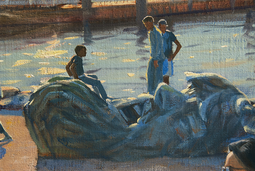 E pluribus unum, detail, figures,  gesture, National Harbor, MD, contemporary realism