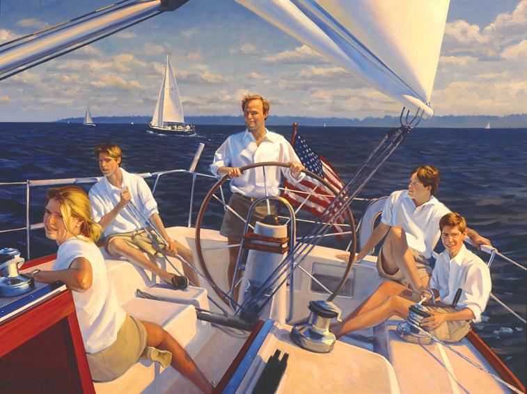 family portrait, children's portrait, boat portrait, oil portrait, environmental portrait, informal, outdoor portrait, washington, district of columbia