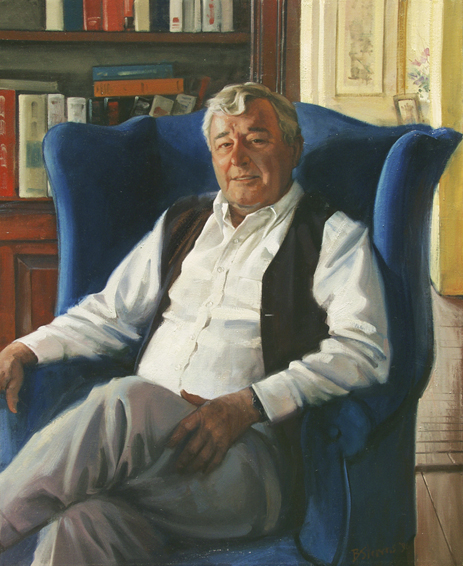 individual portrait, oil portrait, informal portrait, leesburg, virginia