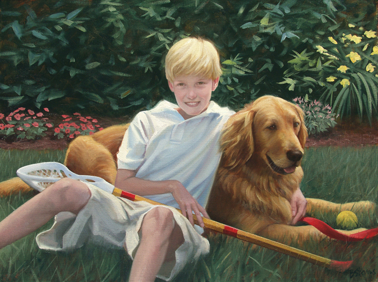 individual portrait, children's portrait, oil portrait, environmental portrait, informal portrait, outdoor portrait, alexandria, virginia