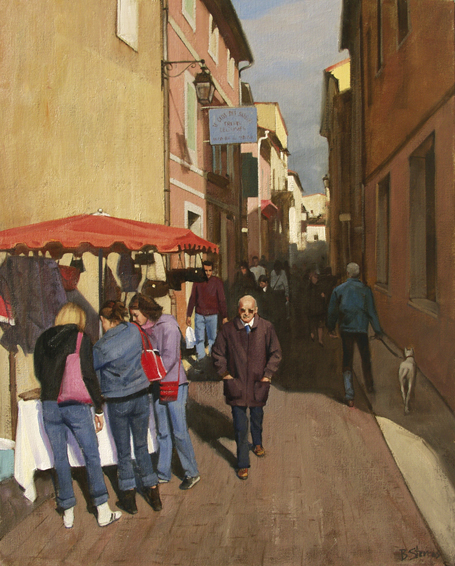 cavaillon, cityscapes painting, oil painting