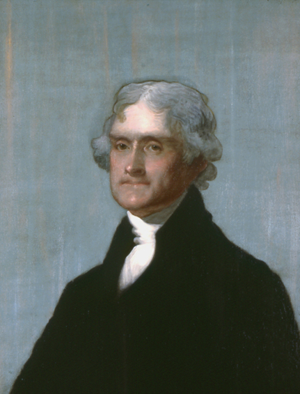 jefferson stuart, historical portrait, oil painting, Gilbert Stuart