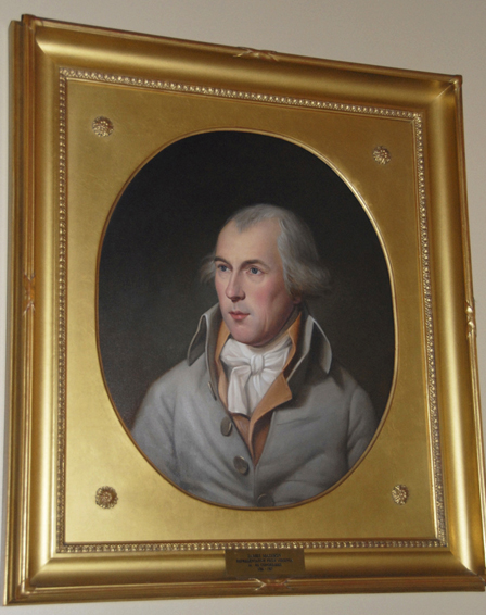 james madison, Charles Willson Peale, U.S. House of Representatives, U.S. State Department, historical portrait, oil painting
