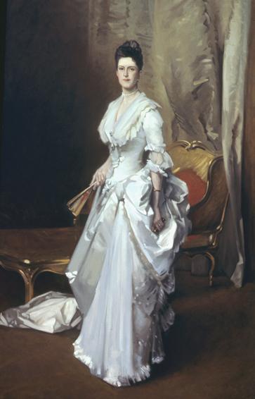 mrs. henry white, john singer sargent, historical portrait, oil painting