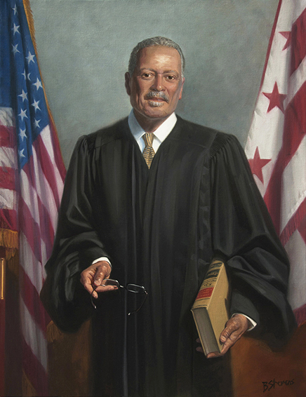 Judge Emmet Sullivan, U.S. district court judge, U.S. District Court for the District of Columbia, Washington, D.C., judicial portrait, U.S. District Court judge portrait