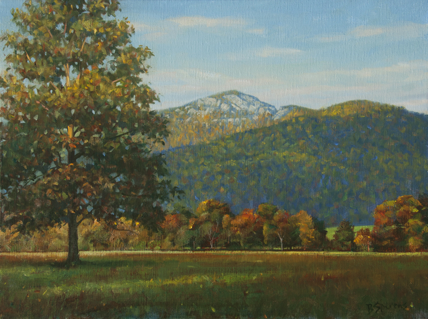 old-rag-morning, landscape painting, oil painting, Virginia landscape painting, Old Rag Mountain, Rappahannock County VA
