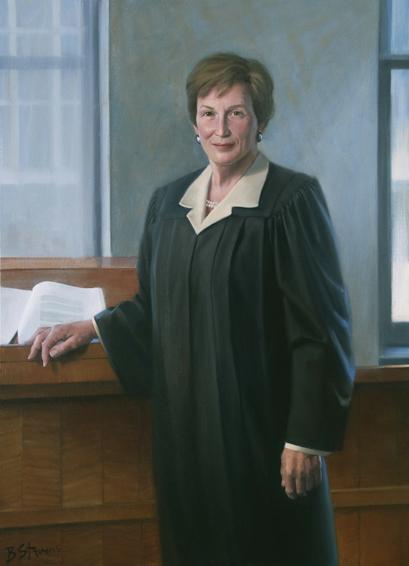 Judge Ellen Segal Huvelle, U.S. district court judge, U.S. District Court for the District of Columbia, Washington, D.C., judicial portrait, U.S. District judge portrait
