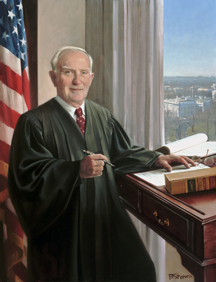 glen archer, chief judge, U.S. Court of Appeals for the Federal Circuit, oil portrait, judicial portrait, U.S. court of appeals judge portrait
