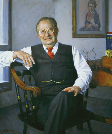 dr. louis harris, chairman, Department of Pharmacology, Medical College of Virginia, oil portrait, doctor's portrait
